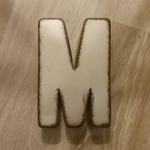 Rustic Initial Home Decor